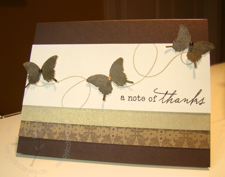 Butterflynoteofthanks