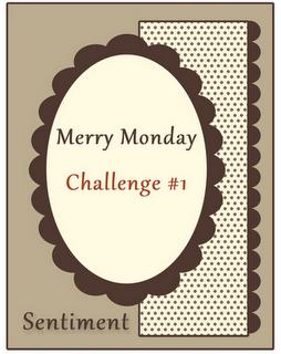 Merry Monday Challenge 1