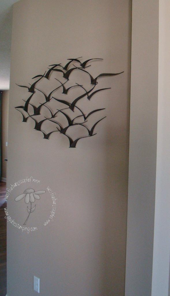 Metalbirdscultpure