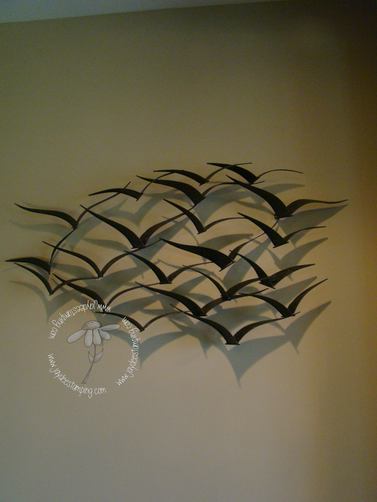Metalbirdsculpture