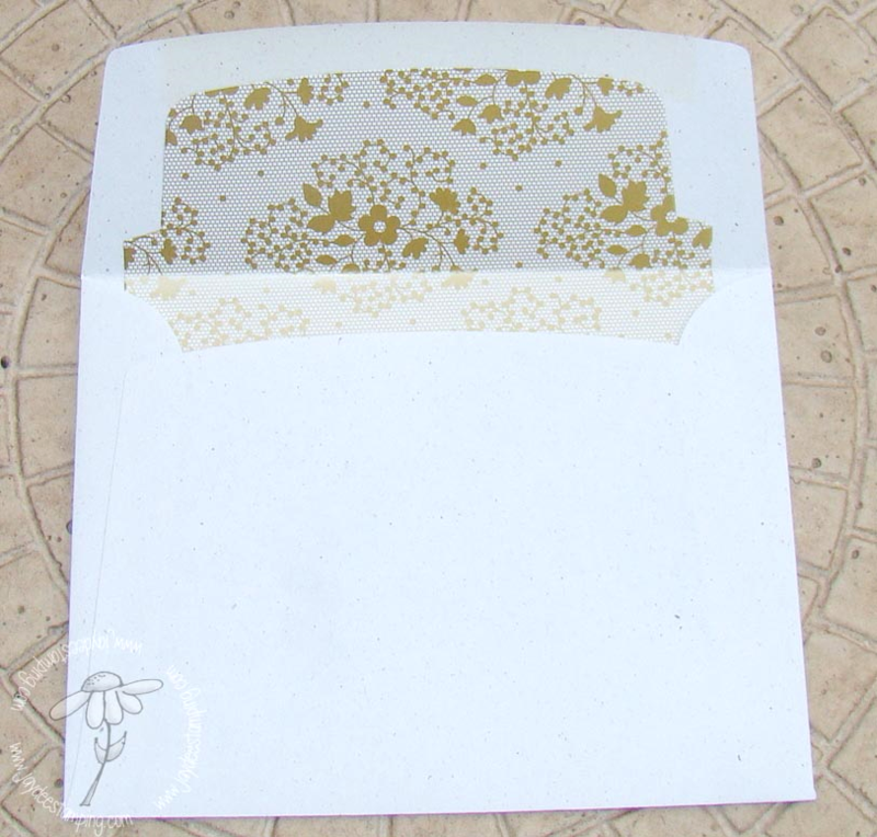 An Open Heart PP200 lined envelope