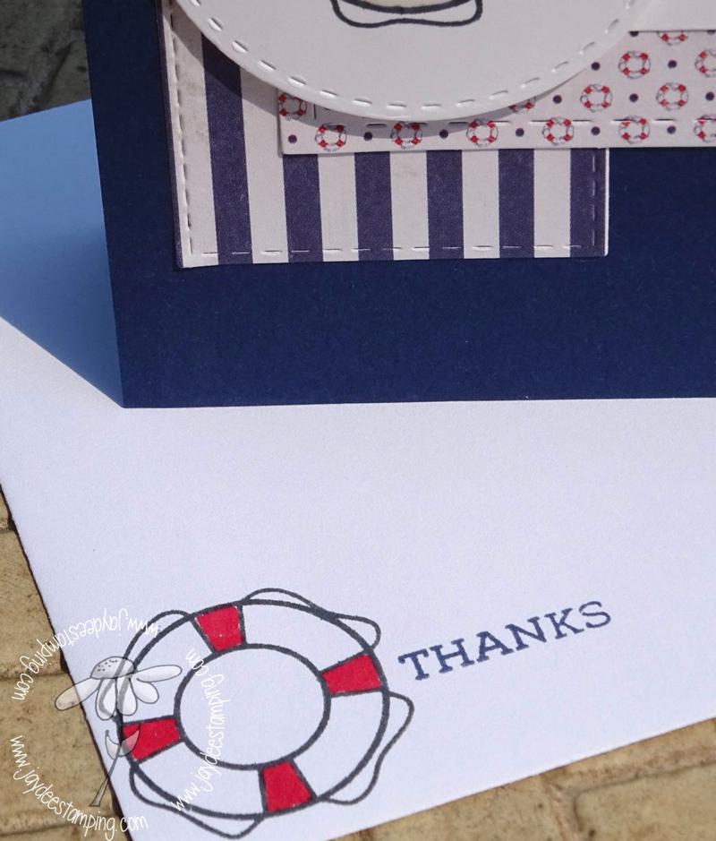 Sail Away envelope