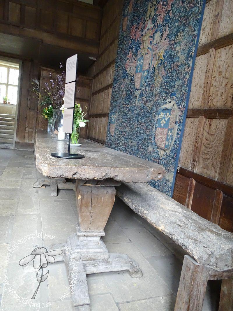 Haddonhallgreat hall table (1 of 1)