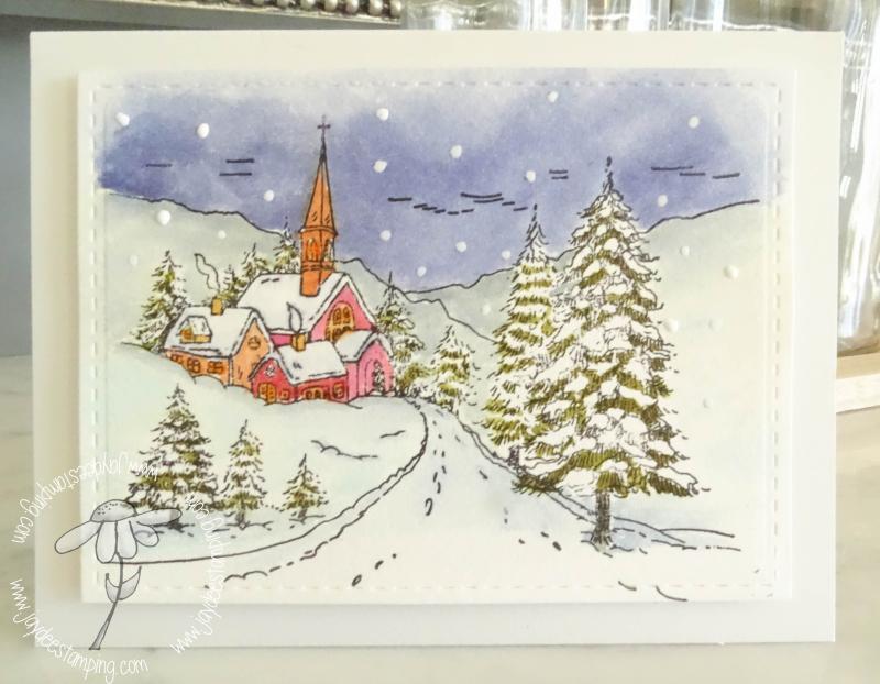 Snowyhamlet watercolor (1 of 1)