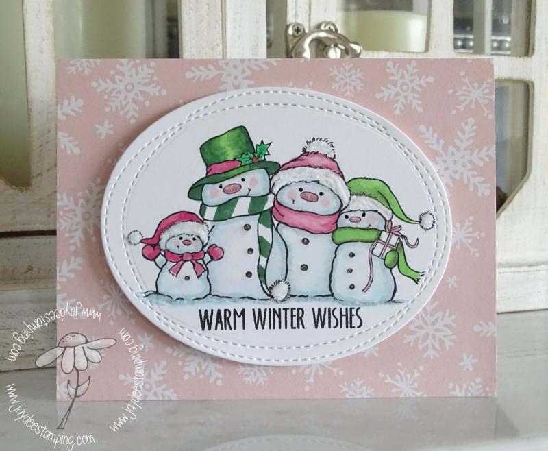 Wild Rose Studio Snowmen (1 of 1)