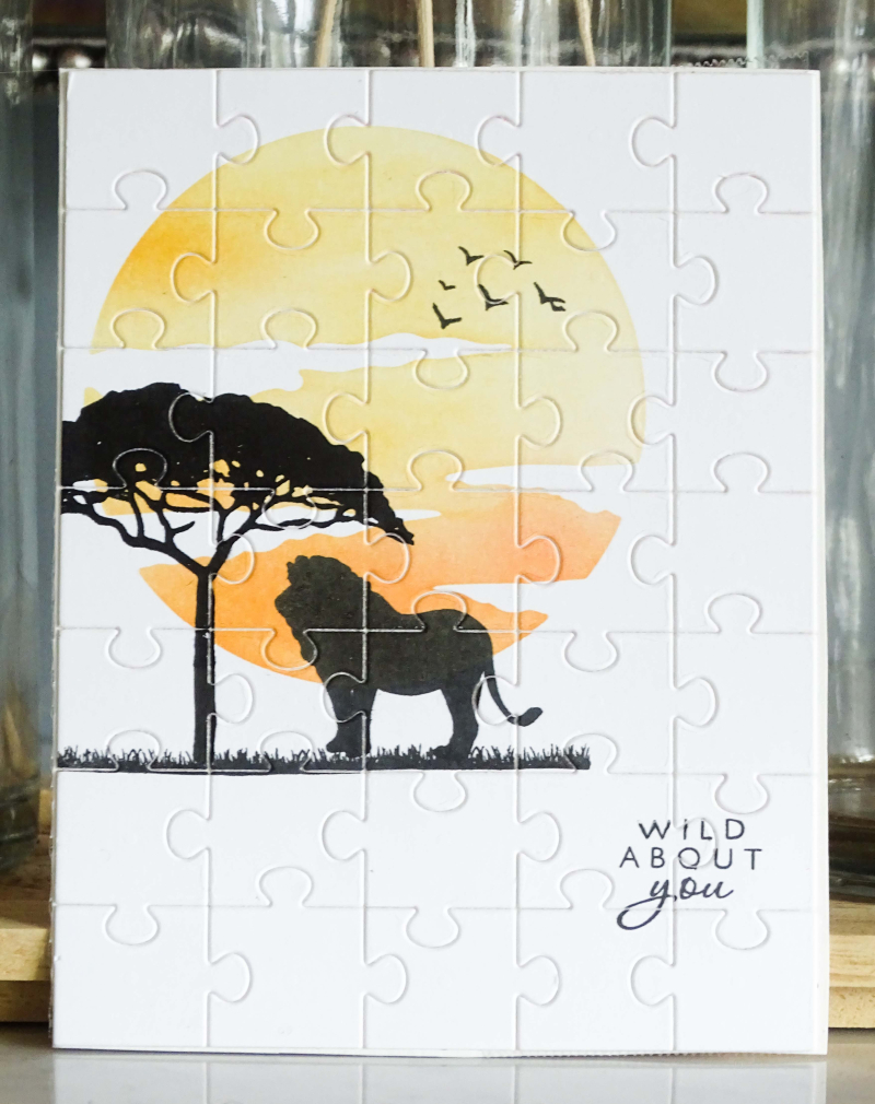 Hero Arts Safari Puzzle (1 of 1)